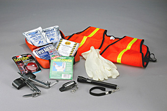 Deluxe Office Survival Kit - 25 Person Safety Kit :: Office ...